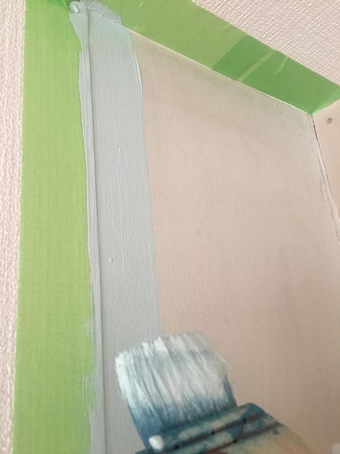 キッチンの壁ペイント