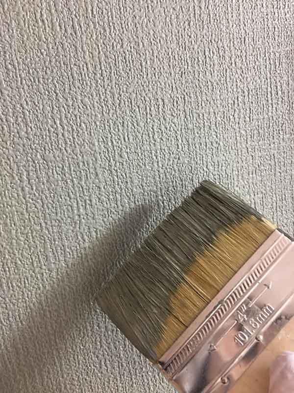 キッチン横壁塗装