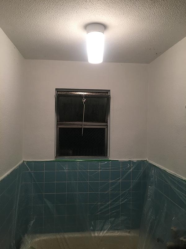 浴室壁ペイント