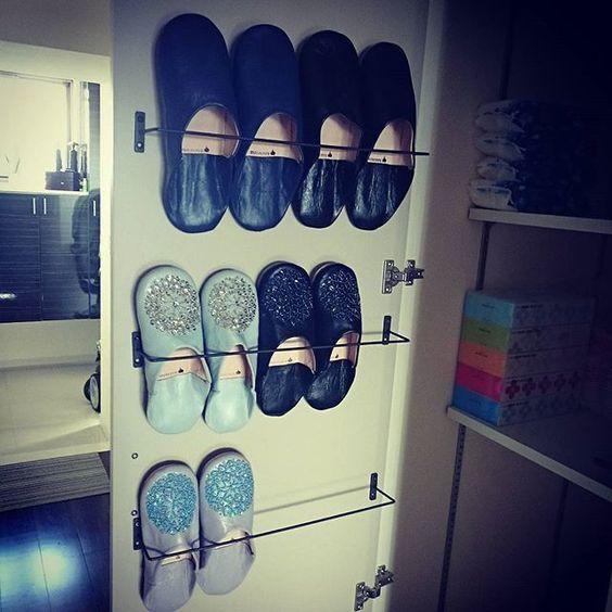 靴箱のスリッパ収納