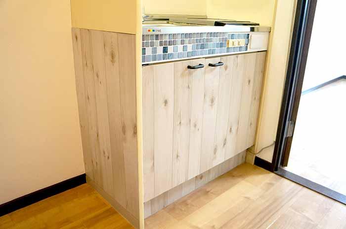 片野305号室のキッチン