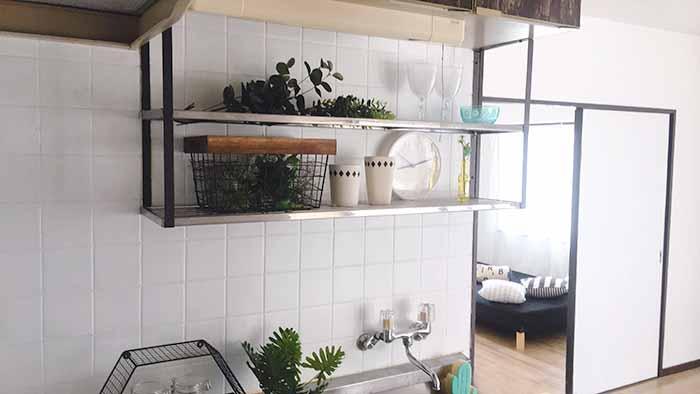 片野706号室のキッチン