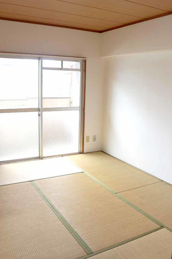 片野706号室の和室