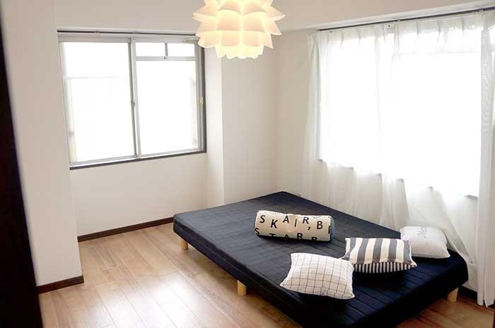 片野706号室のベッドルーム