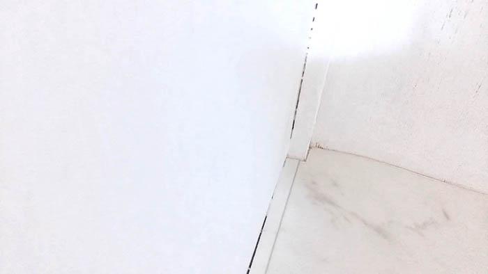 ウォークインクローゼット クッションフロア敷き